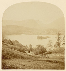 Grasmere, From Red Bank, Helm Crag And Dunmail Raise In The Distance